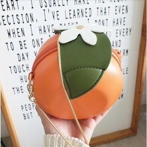 Handbags - NEW - ORANGE FRUIT MINI CROSSBODY BAG